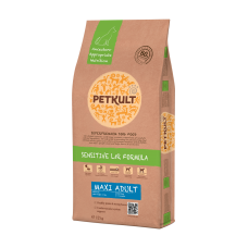 Hrana uscata pentru caini Petkult Sensitive Maxi Adult cu miel si orez 12 kg