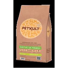 Hrana uscata pentru caini Petkult Sensitive Mini Junior cu miel si orez 2 kg