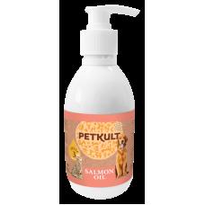 Ulei de somon pentru caini si pisici Petkult 300 ml