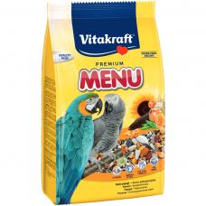 Hrana pentru papagali Vitakraft Premium Menu 1KG
